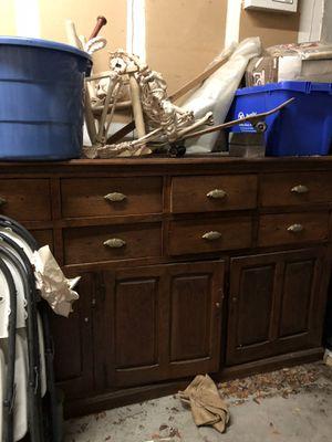 Vintage antique furniture/ sideboard / dresser / for Sale in Plantation, FL