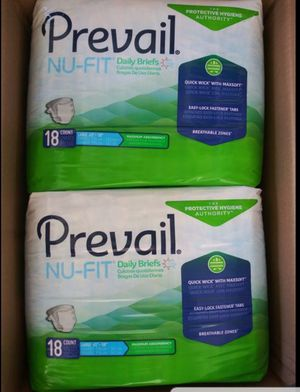 Adult diapers 3 large boxes all for $40 for Sale in Arroyo Grande, CA