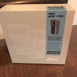 Smart Video Doorbell Brand New In Box Loca for Sale in Phoenix, AZ