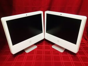 "2-Apple iMac A1207 20"" All in One Desktop (2006) **PARTS** for Sale in Las Vegas, NV"