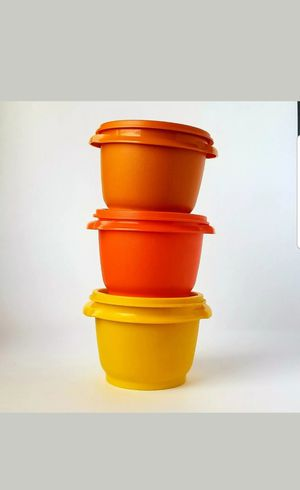 Vintage Tupperware Mini Containers for Sale in Fontana, CA