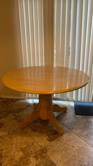 Wooden kitchen/ dining table for Sale in Buckeye, AZ