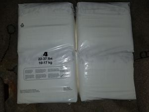 Size 4 diapers for Sale in Fresno, CA
