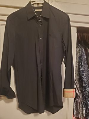 Burberry mens dressing shirt for Sale in San Bernardino, CA