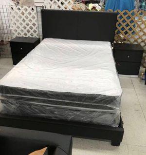 5 PCS BEDROOM SET NEW IN BOX FULL or QUEEN JUEGO DE HABITACIÓN TODO NUEVO EN SU CAJA - BED SET for Sale in Cooper City, FL
