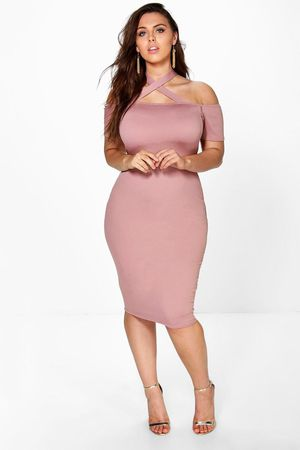 Boohoo- blush cocktail dress- size 18 for Sale in Santa Monica, CA