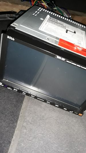 Boss bv9555 touchscreen stereo DVD player for Sale in San Diego, CA