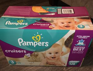 Pampers cruisers (size 3) for Sale in Austin, TX