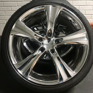 """18"""" BOSS Motorsposts Rims & DELINTE Tires for Sale in Mount Holly, NC"""
