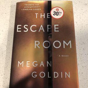 The Escape Room By Megan Goldin for Sale in Corona, CA