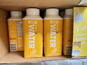 Pack of 23 JUST Water Lemon Infused 11.2 oz for Sale in Snohomish, WA