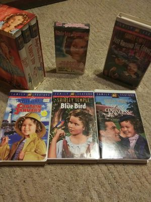 Shirley Temple VHS for Sale in Caro, MI