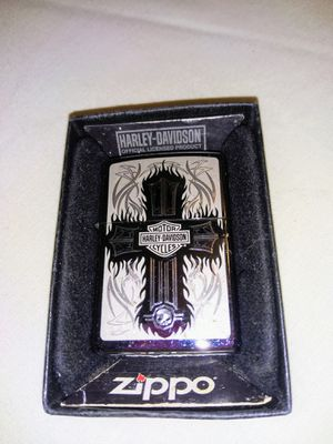 ZIPPO LIGHTER VINTAGE HARLEY DAVIDSON CROSS NIB for Sale in Newburgh Heights, OH