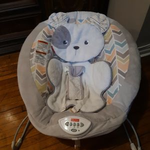 Fisher Price Snugapuppy Dreams Deluxe Bouncer for Sale in Queens, NY