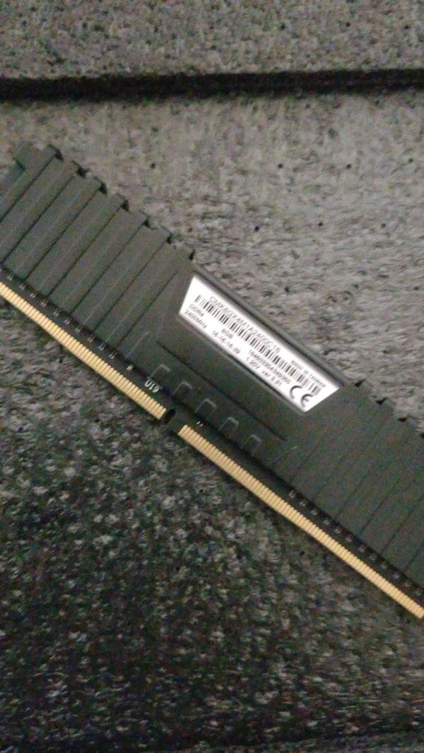 Corsair 2400Mhz DDR4 Ram