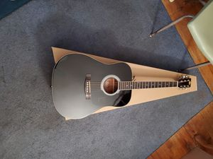 New Black Rogue Concert Acoustic Dreadnought Guitar, Free Strap and Lessons for Sale in Colorado Springs, CO