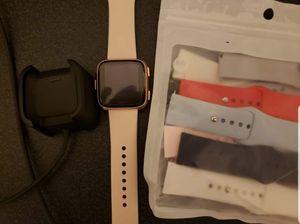 Fitbit Versa Rose Gold Watch for Sale in Batsto, NJ