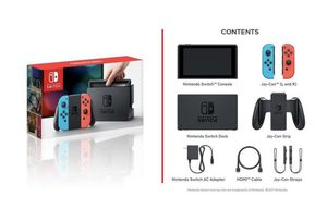 Neon Red/Blue Nintendo Switch - BRAND NEW for Sale in Peabody, MA