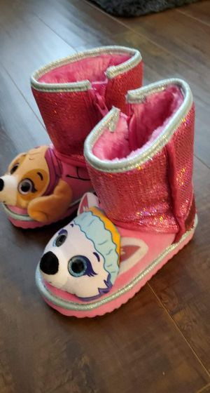 NEW Girl's Size 7 Paw Patrol Boots/Shoes for Sale in Irving, TX