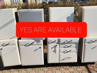 Kitchen cabinets old style - garage laundry room storage bins shelves for Sale in Elizabeth,  NJ