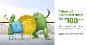4 lines unlimited for $100 for Sale in Chattanooga, TN