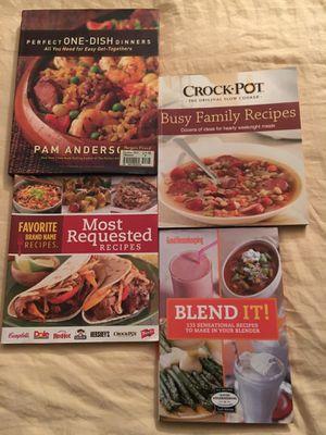 Set of 4 cookbooks for Sale in San Antonio, TX
