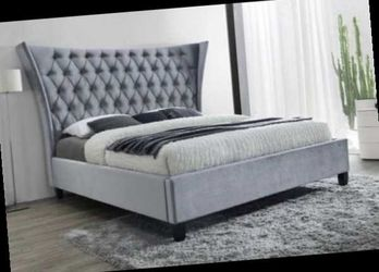 Queen bed frame only. Free local delivery for Sale in Pomona,  CA