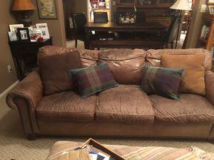 Leather Sofa for Sale in Phoenix, AZ