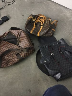 Three REAL with tags Louis Vuitton bags purchased at authorized retailer for Sale in Yucaipa, CA