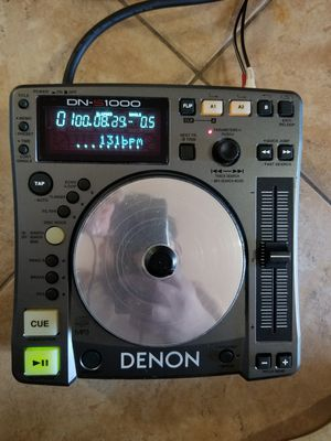 DENON DN-S1000 PLAYER DJ for Sale in Modesto, CA