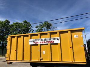 Dumpsters and Trash Removal for Sale in Dearborn, MI