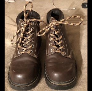 (Size: 8) Brown - Work Boots for Sale in SELFRIDGE, MI
