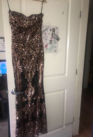 Beautiful black ball / prom dress for Sale in Boston, MA