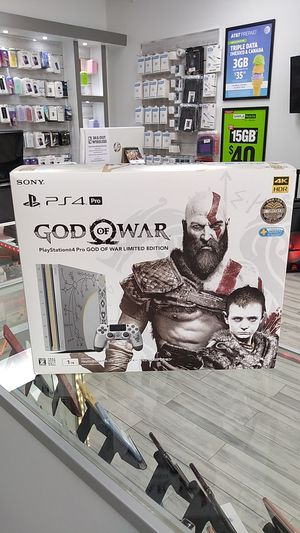 PS4 Pro God of war Limited edition for Sale in Lake Mary, FL