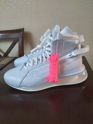 Nike Air Max 720 Saturn Pure Platinum White Shoes for Sale in Moreno Valley, CA