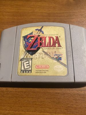 Zelda: ocarina of time n64 for Sale in Renton, WA