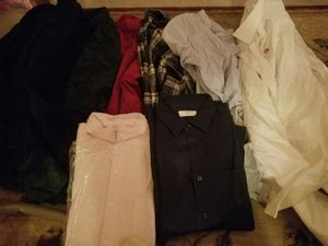 A bunch of mens good brand clothes for Sale in Sudley Springs, VA