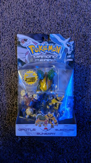 Pokemon Diamond & Pearl 3 Pack Series 6 Grotle,Electivire & Buneary for Sale in North Haledon, NJ