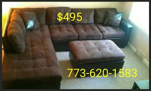 Only $495 for brand new sectional! Reversible chaise!!! for Sale in Chicago, IL