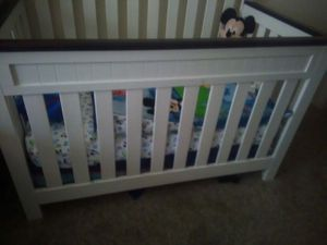 Baby crib no bed included great condition for Sale in Denver, CO