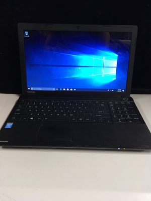 Toshiba Sattelite Laptop Windows 10 for Sale in San Bernardino, CA