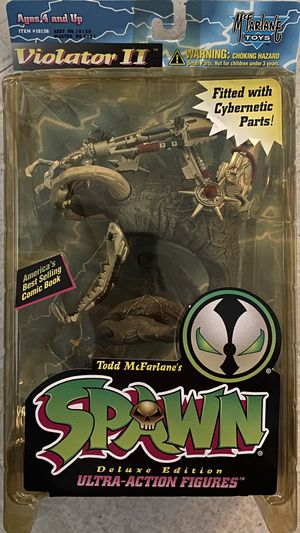 Spawn Violator II With Cybernetic Parts Figure McFarlane Toys 1995 NEW NIP for Sale in Santa Ana, CA