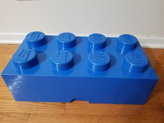 Lego Storage Brick Box Blue for Sale in Bolingbrook,  IL