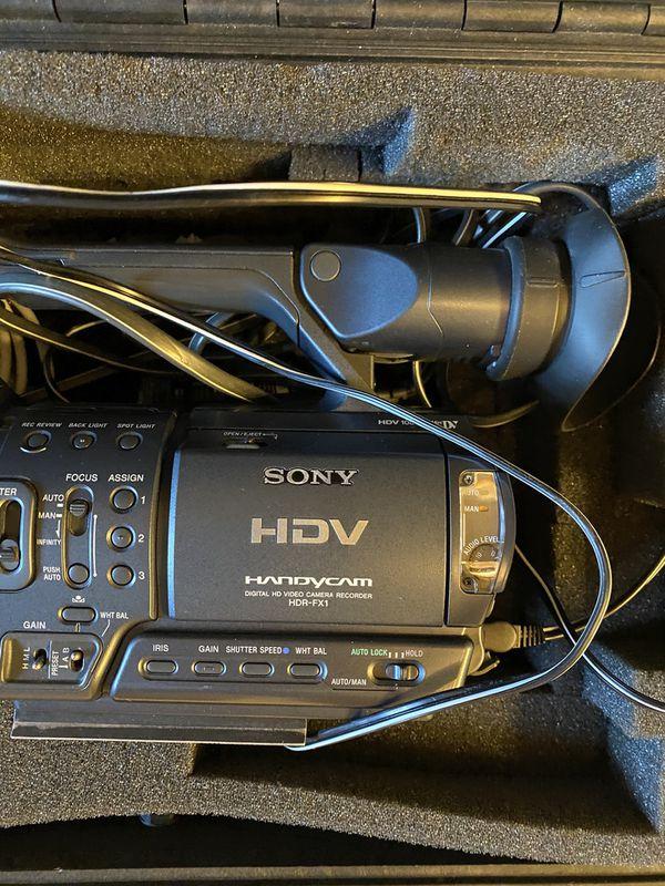 Sony HDV Handycam HDR-FX1