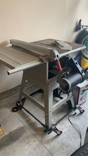 Craftsman table saw for Sale in Battle Ground, WA