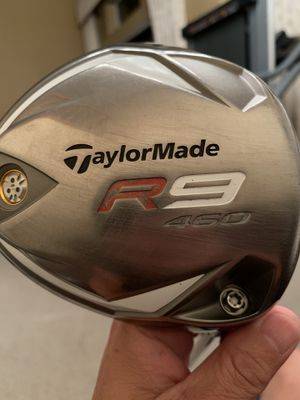 RH - 10.5* TaylorMade R9 460 Driver - ALDILA RE⚡️AX 60 Stiff Flex - Golf Pride Tour Wrap MidSize Grip 💎CLEAN💎 for Sale in Los Alamitos, CA