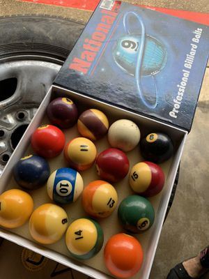 Billiard balls for Sale in Dallas, TX