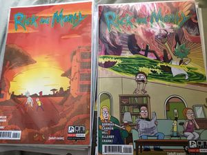 Rick and morty onipress comics issues 1-18 including 6 various variants(24 in total) for Sale in West Palm Beach, FL