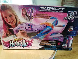 Girls nerf gun toy for Sale in Farmingdale, NJ