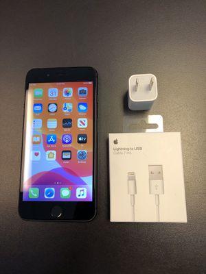 Apple iPhone 8 Plus 64gb sprint/boost black w/accessories & warranty for Sale in Lawrenceville, GA